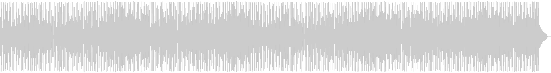 コミカルなファンキーオルガン:フルx2の未再生の波形
