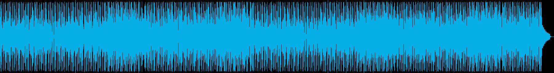 コミカルなファンキーオルガン:フルx2の再生済みの波形