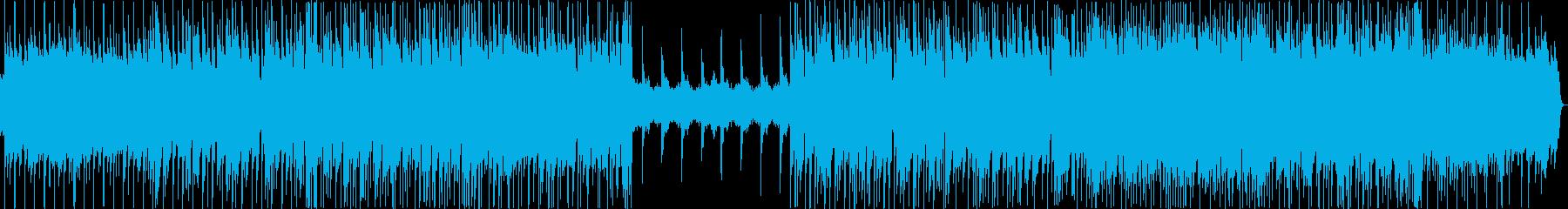 フレッシュなイメージですの再生済みの波形