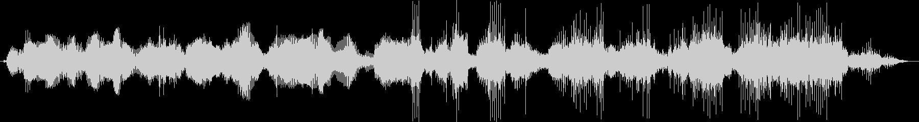 音調のエレクトロボイスコミュニケーションの未再生の波形