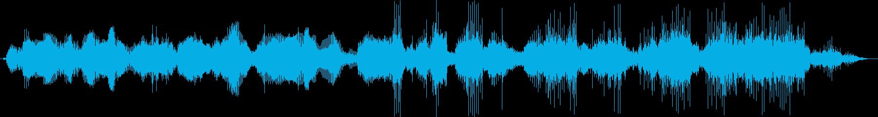 音調のエレクトロボイスコミュニケーションの再生済みの波形