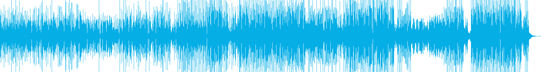 ウクレレ・和む雰囲気 後半打楽器・長尺の再生済みの波形