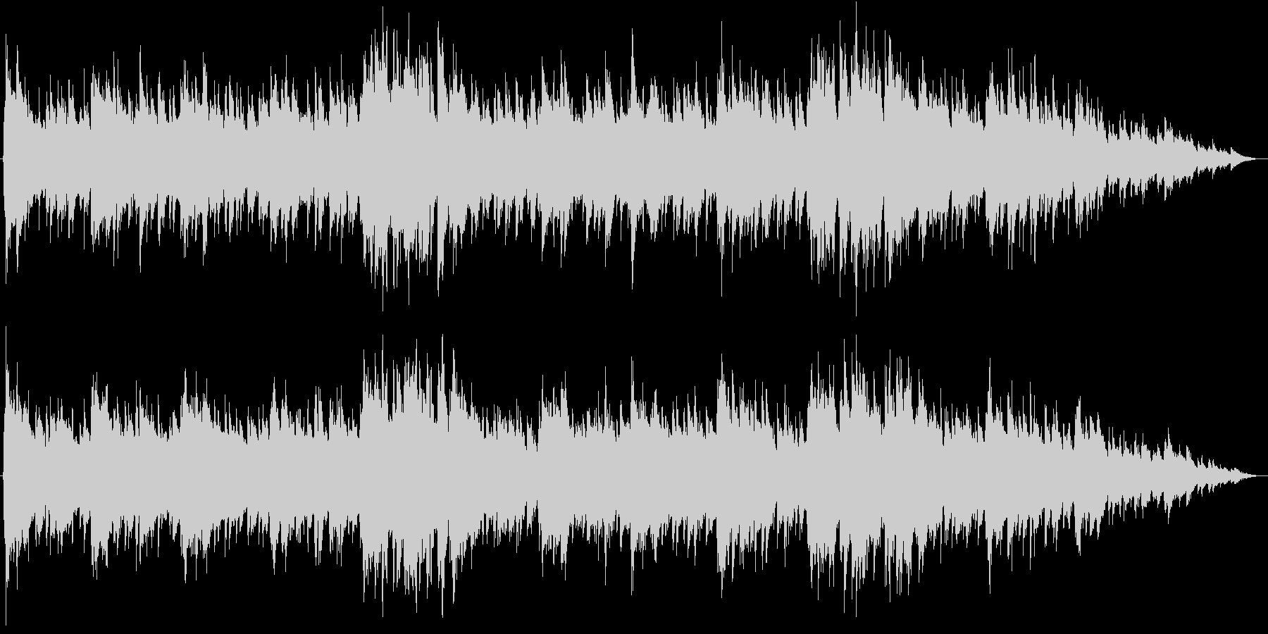 Aギター生演奏-ピアノ優しく混ざり合っての未再生の波形