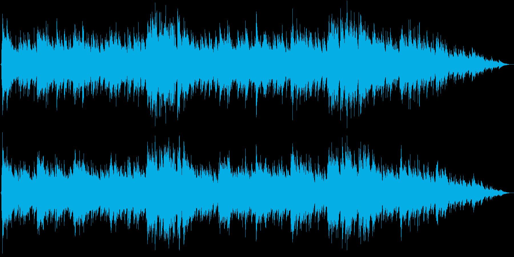 Aギター生演奏-ピアノ優しく混ざり合っての再生済みの波形