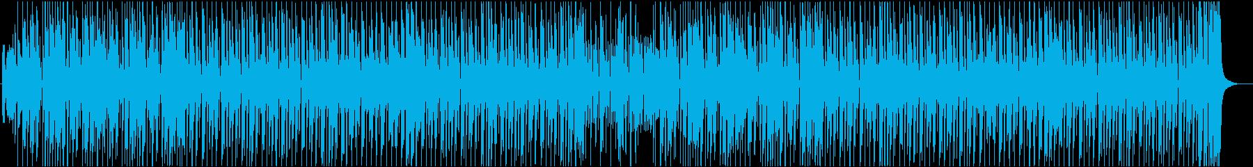疾走感・軽快・都会的なピアノファンクの再生済みの波形