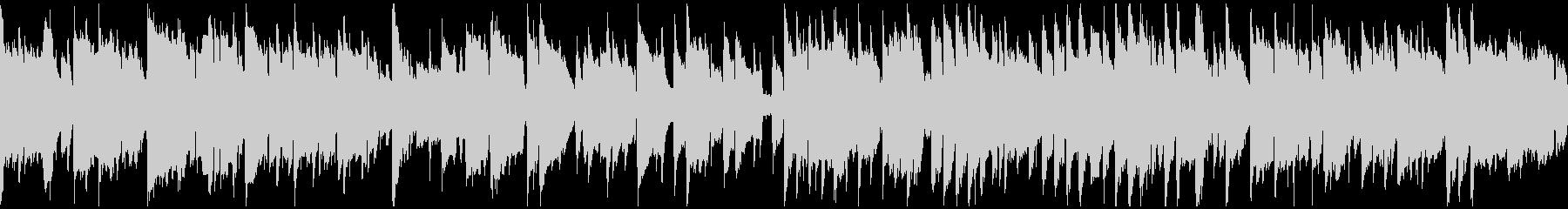 ノスタルジックなリコーダー ※ループ版の未再生の波形
