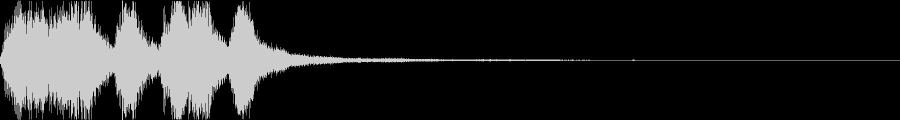 ラッパ ファンファーレ 定番 18の未再生の波形