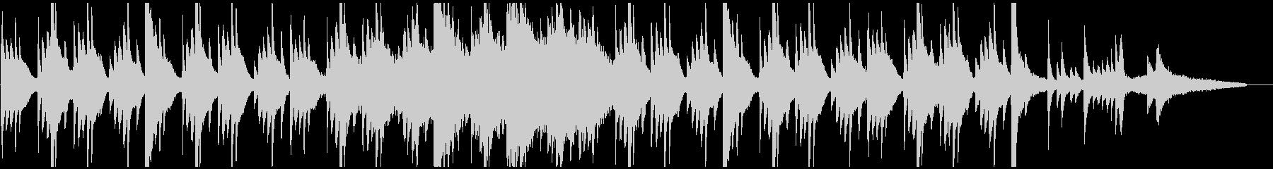 シンプルで感動的な音楽(ピアノメイン)の未再生の波形