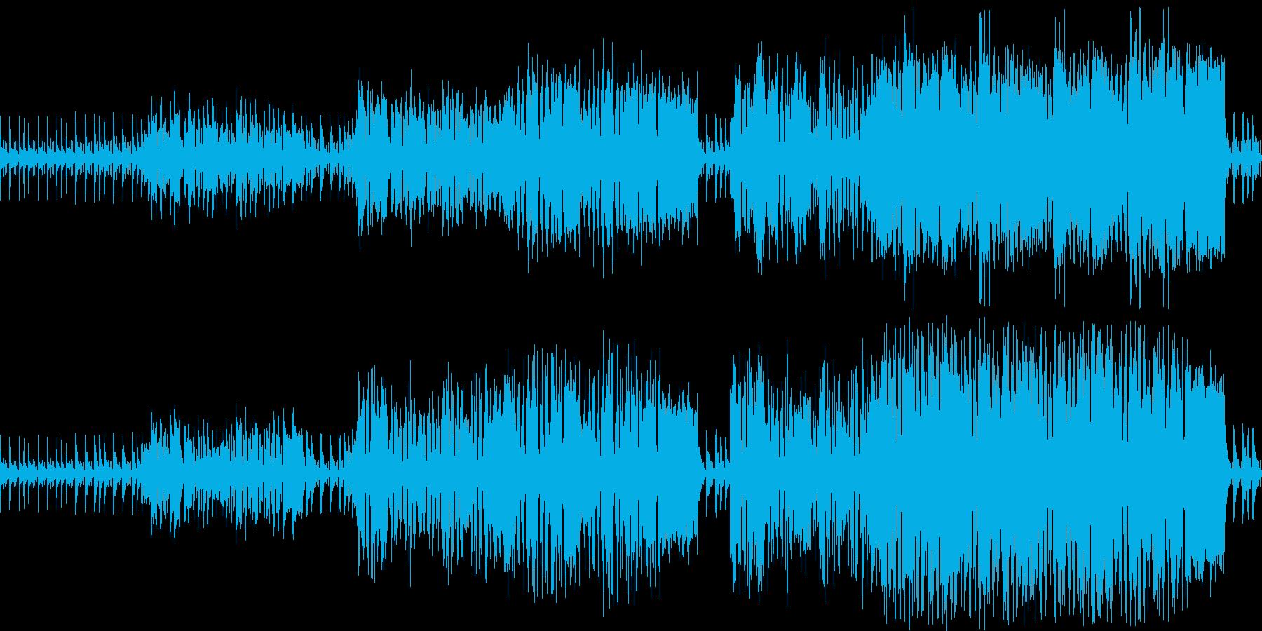 探検や冒険をするときのわくわくしたBGMの再生済みの波形
