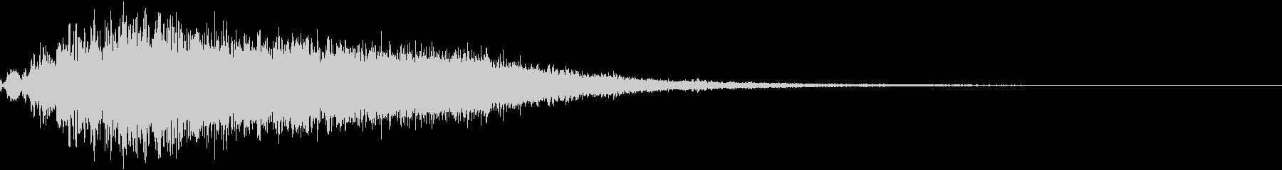 【ゲーム・アプリ】ホワホワホワ・・・の未再生の波形