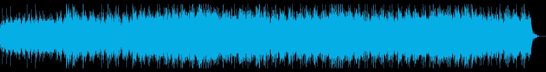 スパニッシュでダークテクスチャの再生済みの波形