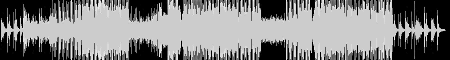 メロディックなヒーリングピアノハウスの未再生の波形