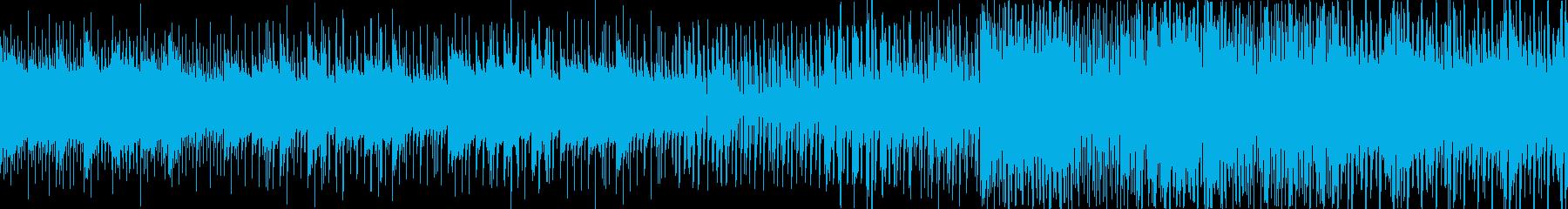 ホイッスルサウンド、陽気でギターポ...の再生済みの波形