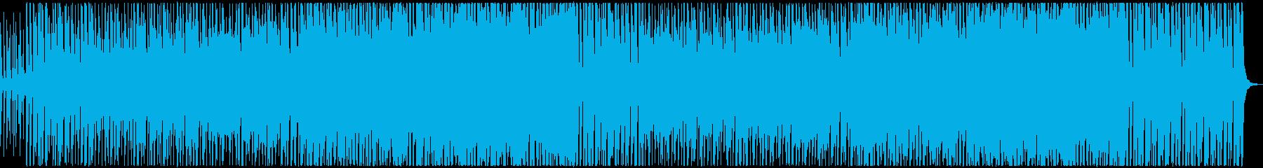 人生苦楽音頭の再生済みの波形