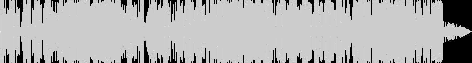 明るくきらめくエレクトロポップの未再生の波形