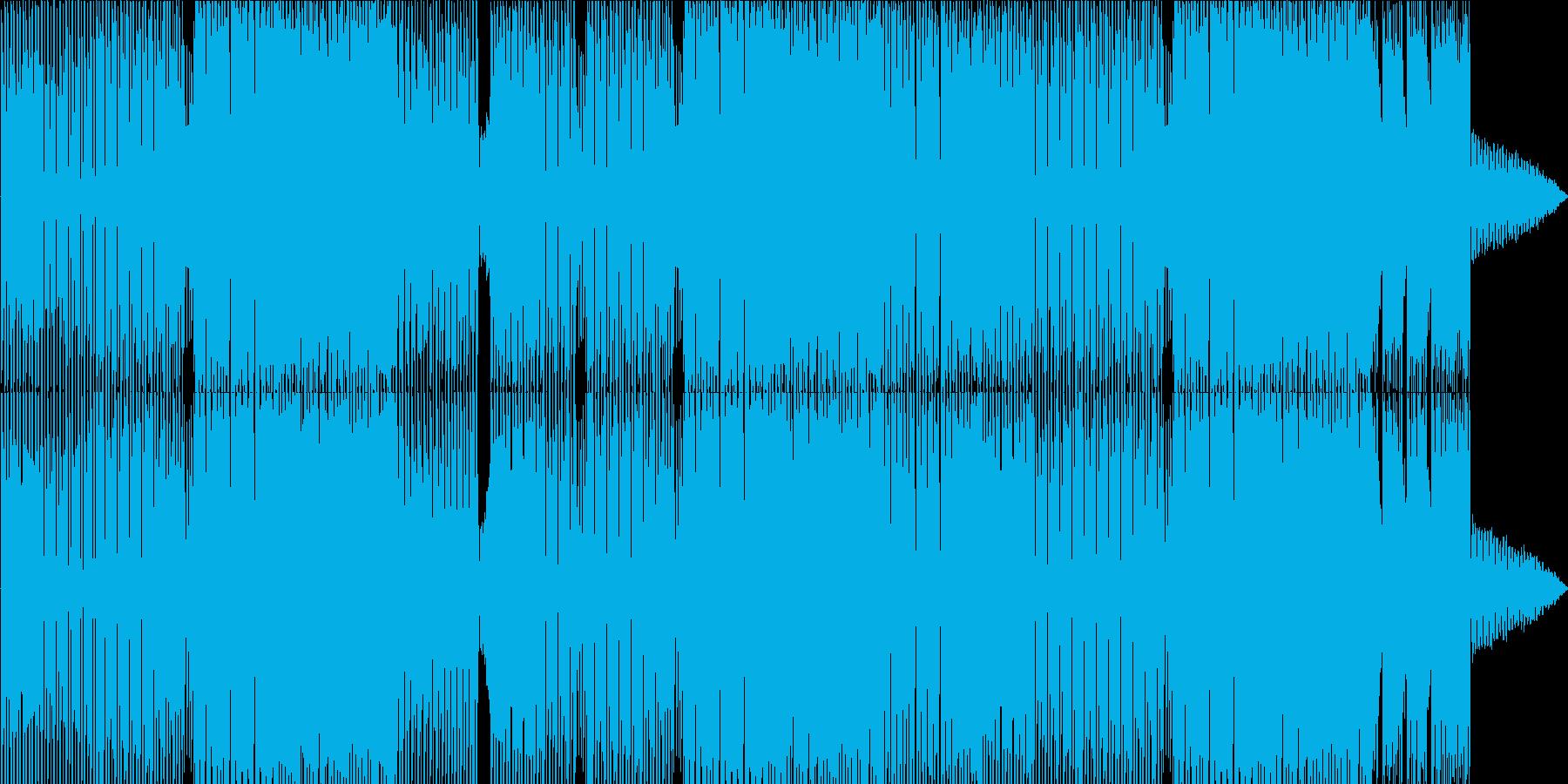 明るくきらめくエレクトロポップの再生済みの波形