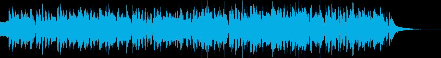 サックスのフレーズがかっこいいジングルの再生済みの波形