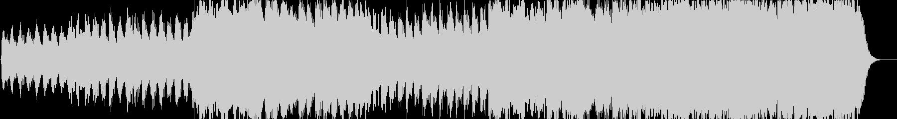 癒し系クラシックの未再生の波形