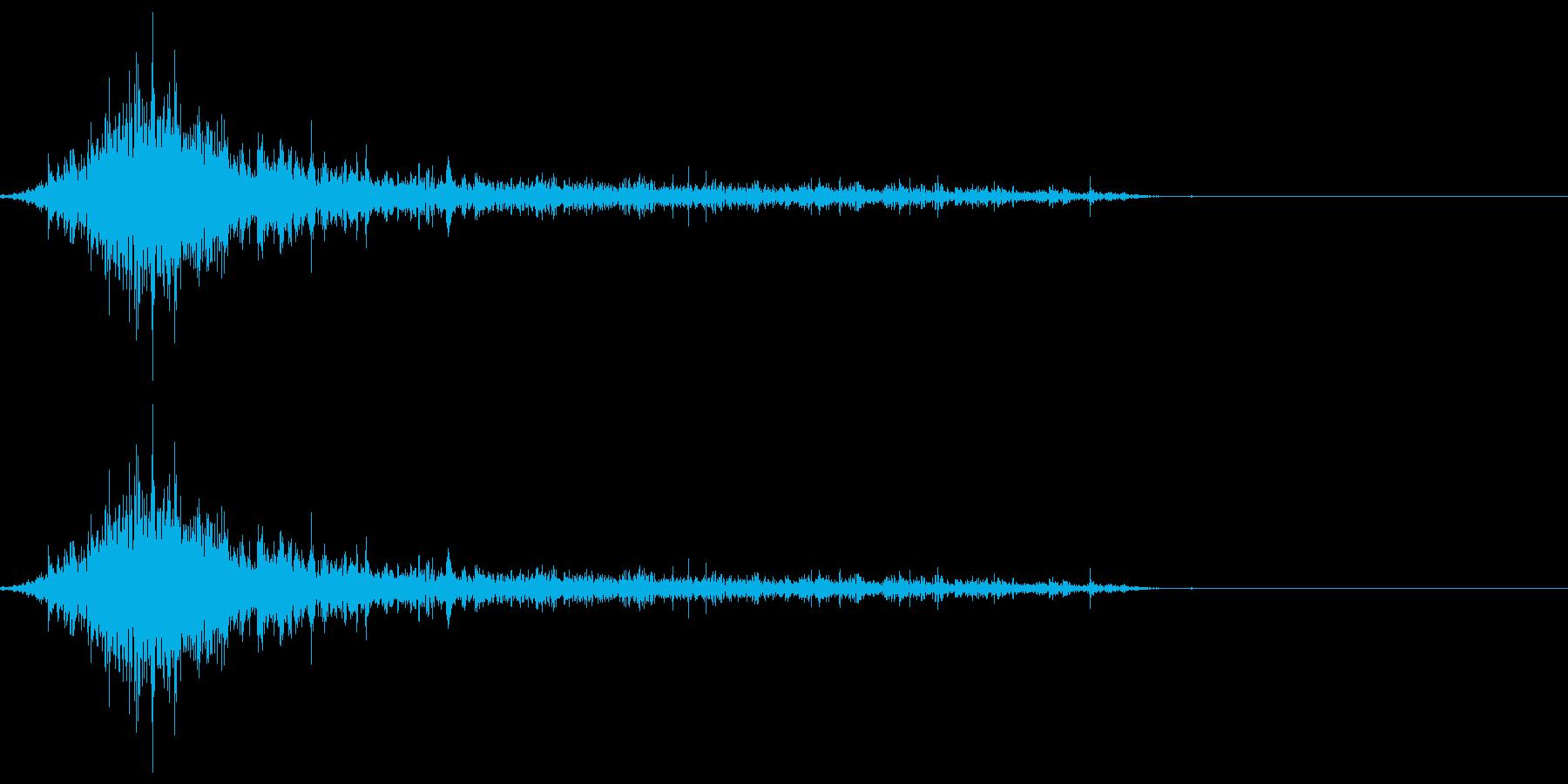 ゾンビやモンスターの唸り声/叫び声!19の再生済みの波形