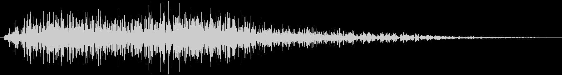 オケヒット クイズ番組 デデンの未再生の波形