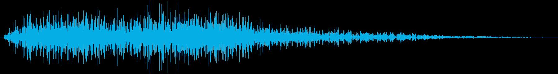 オケヒット クイズ番組 デデンの再生済みの波形
