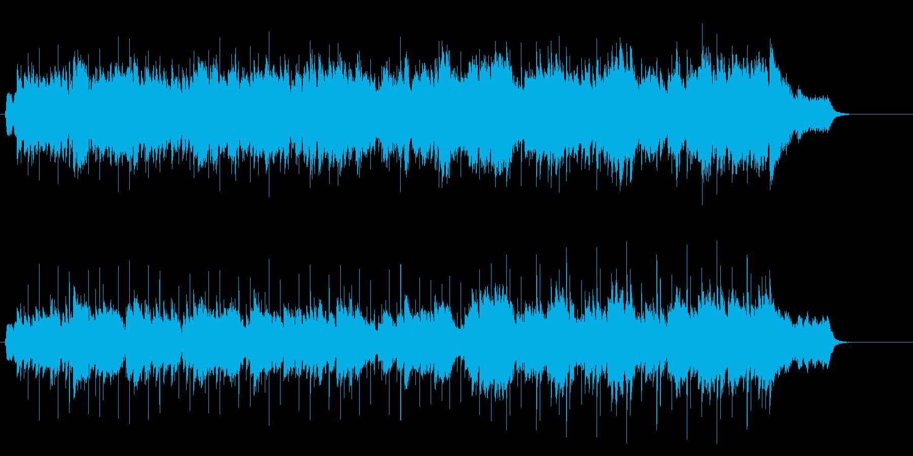 カレッジフォーク風、レポートB.G.Mの再生済みの波形