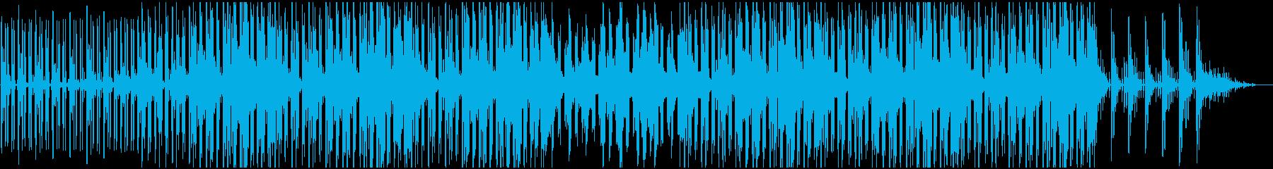 幻想的、ほんわかしたチルヒップホップの再生済みの波形