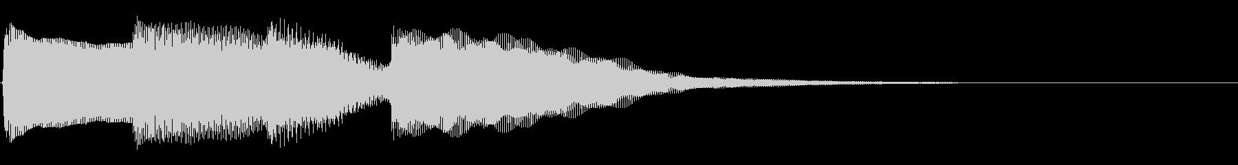 ピンポンパンポン01-1(バイノーラル)の未再生の波形