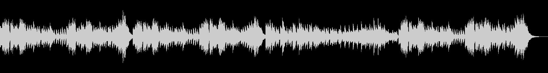 ピアノ練習曲/ブルグミュラー進歩の未再生の波形