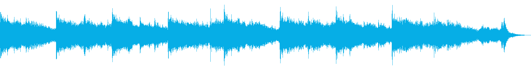 日本神話的な神秘的な和風曲ショートverの再生済みの波形