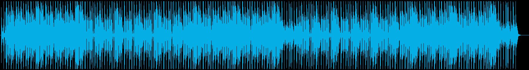 レゲエ 明るく前向きなVIBESの再生済みの波形