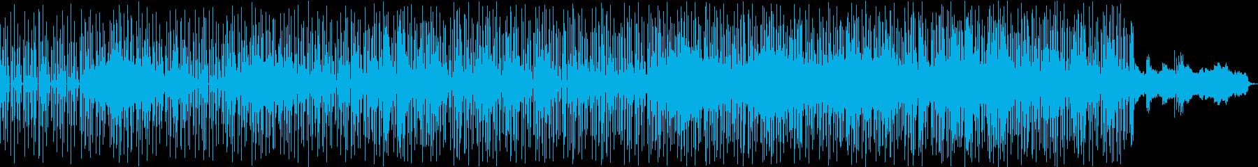 かっこよくて力強いラップメロディーの再生済みの波形