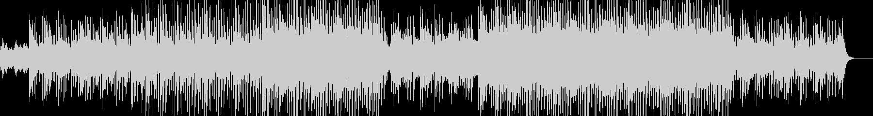 バトルゲームの会話シーンをイメージした曲の未再生の波形