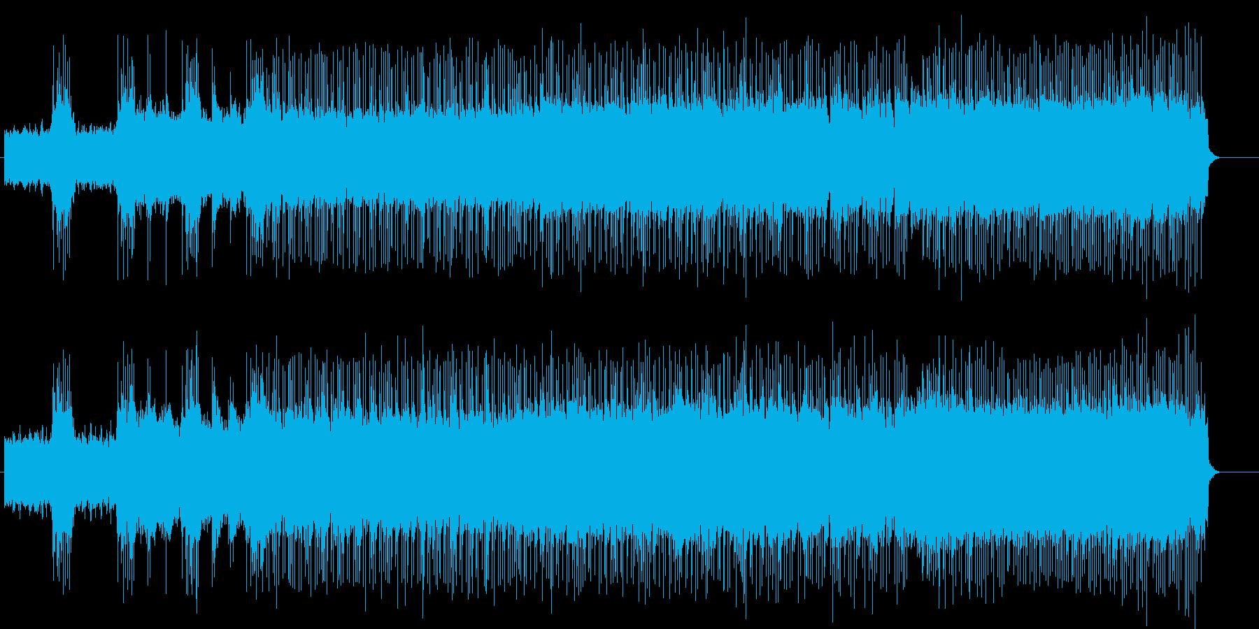 スポーティー・バトルサウンドの再生済みの波形