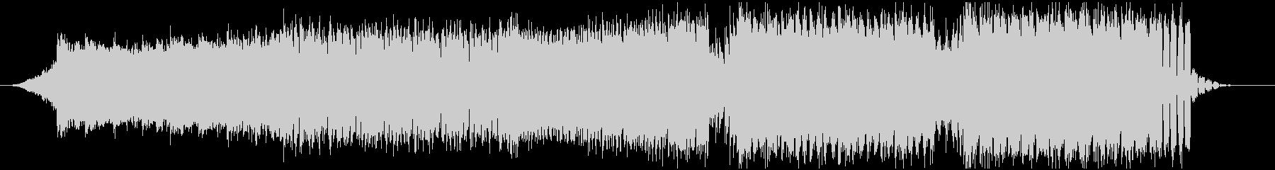 ピアノとシンセ主体のキレイめEDMの未再生の波形