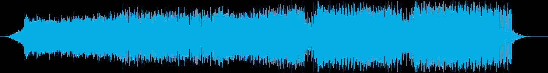 ピアノとシンセ主体のキレイめEDMの再生済みの波形