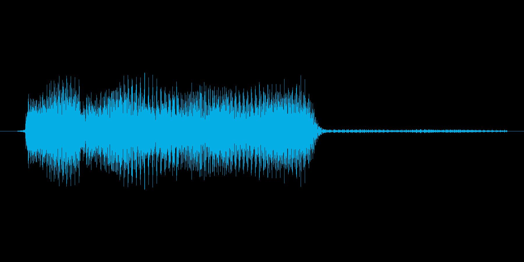ゲーム、クイズ(ピンポン音)_013の再生済みの波形
