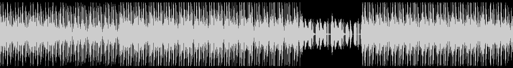 80年台、ディスコR&B風ミュージックの未再生の波形