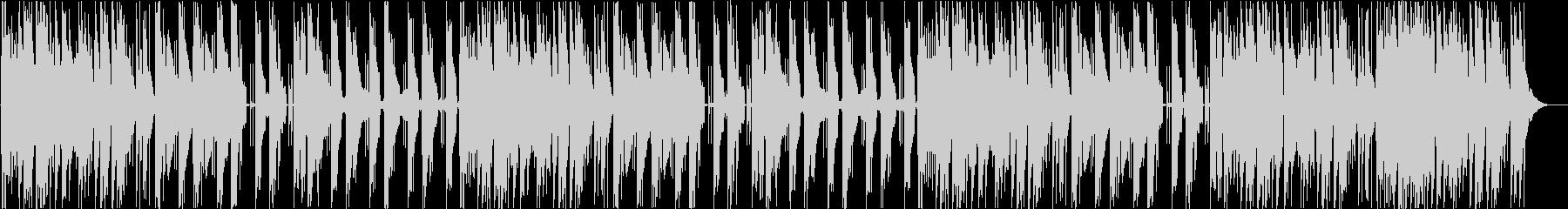 アジアテイストのトラップの未再生の波形