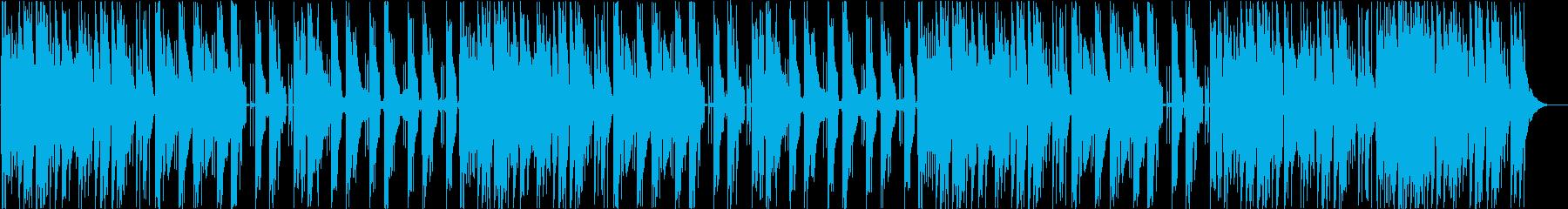 アジアテイストのトラップの再生済みの波形