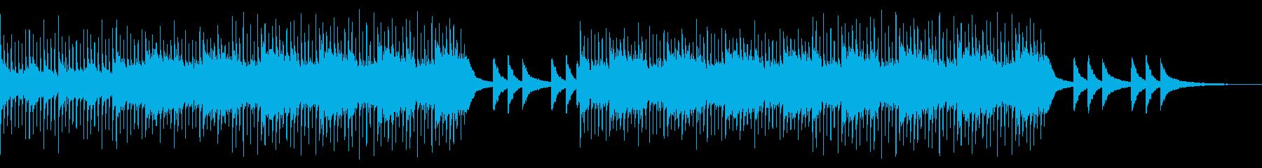 No melody Cool guitar violin's reproduced waveform