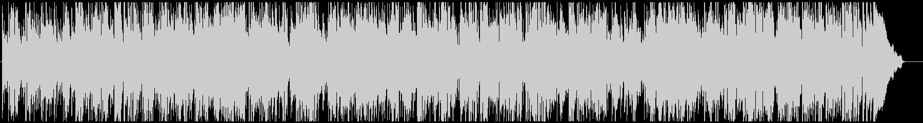 ジャズ 早めのスイング サックス生演奏の未再生の波形