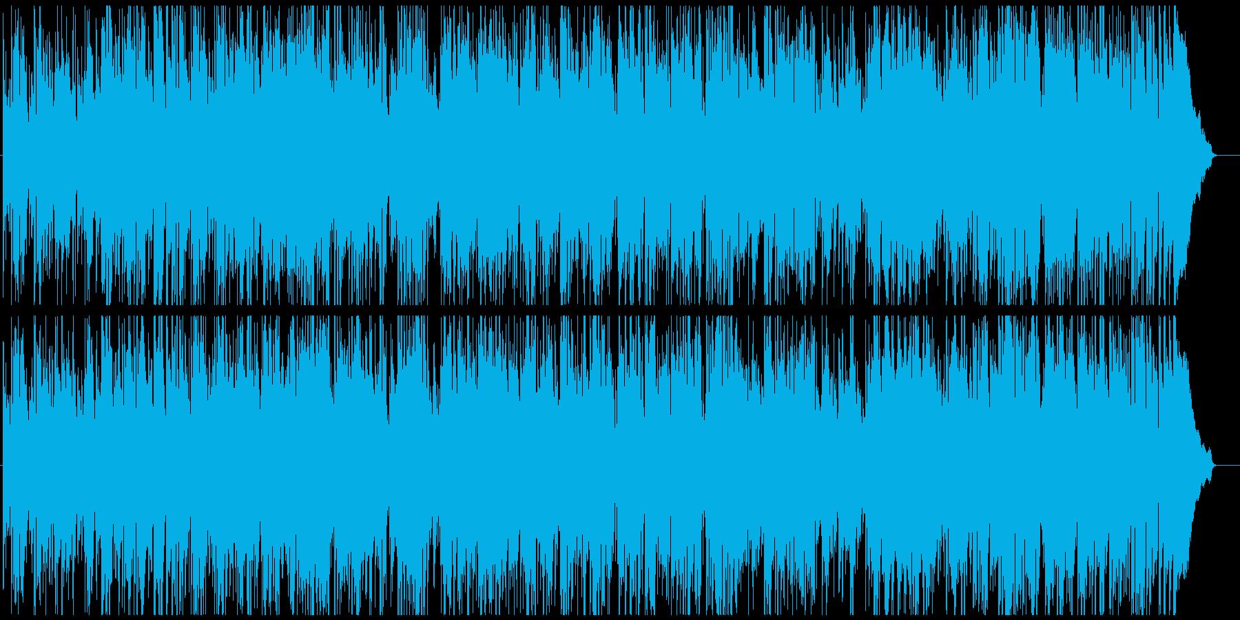 ジャズ 早めのスイング サックス生演奏の再生済みの波形