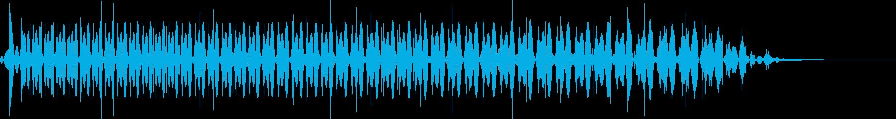 【ゲーム】ブーン・・・ アナログの再生済みの波形