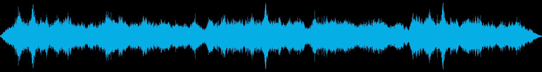 旋回空間風、SCI FIマジック、...の再生済みの波形
