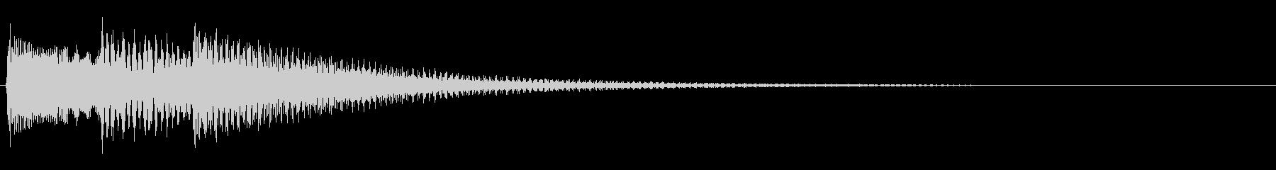 KANTアイキャッチ46の未再生の波形