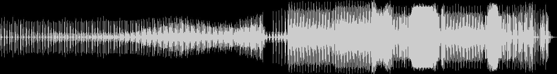 テクノ。 80音。の未再生の波形