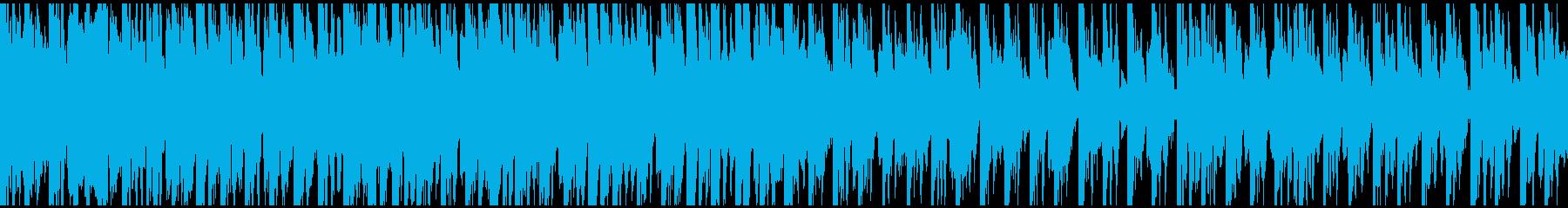 非常にわずかなトロピカル/アイラン...の再生済みの波形