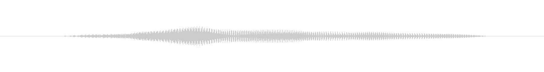 よぉおの未再生の波形