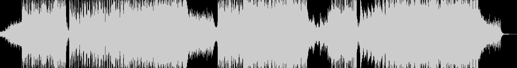 闇→光・爽快で感動的に展開 エレキ有B+の未再生の波形